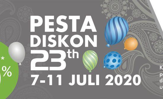 Pesta Diskon Ultah SIMA 23th
